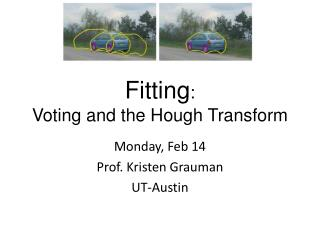 Fitting:  Voting and the Hough Transform