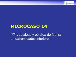 MICROCASO 14
