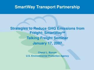 SmartWay Transport Partnership