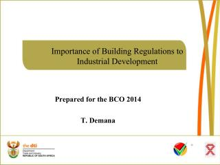 Importance of Building Regulations to  Industrial Development