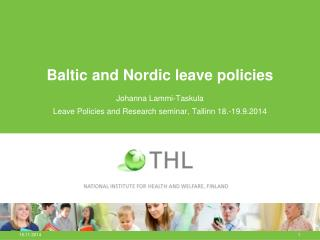 Baltic and Nordic leave policies