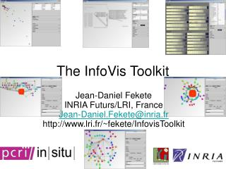 The InfoVis Toolkit