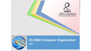 CS 206D Computer Organization Lab7