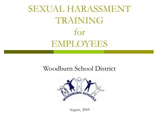 SEXUAL HARASSMENT TRAINING  for EMPLOYEES