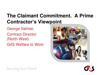 The Claimant Commitment.  A Prime Contractor�s Viewpoint