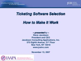 Ticketing Software Selection How to Make It Work