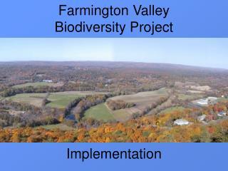 Farmington Valley   Biodiversity Project