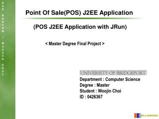 Point Of Sale(POS) J2EE Application