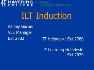 ILT Induction
