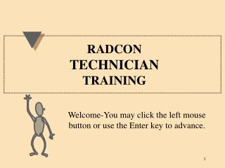 RADCON TECHNICIAN TRAINING