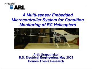 A Multi-sensor Embedded Microcontroller System for Condition Monitoring of RC Helicopters