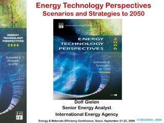 Energy Technology Perspectives Scenarios and Strategies to 2050