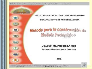 Sistema de Universidades Estatales del Caribe Colombiano      –   Año 2012