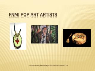 FNMI Pop Art Artists