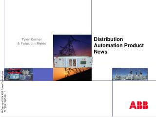 Distribution Automation Product News