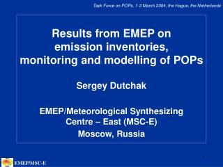 EMEP/MSC-E