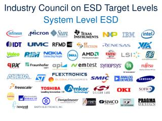Industry Council on ESD Target Levels System Level ESD