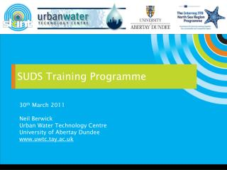 SUDS Training Programme