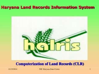 Haryana Land Records Information System