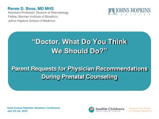 Renee D. Boss, MD MHS