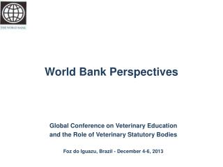World Bank Perspectives