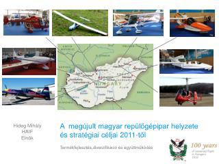 A  meg�jult magyar rep�l?g�pipar helyzete �s strat�giai c�ljai 2011-t?l