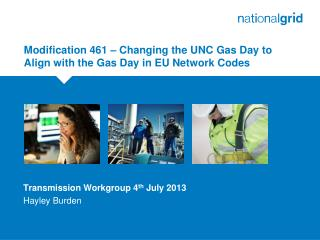 Modification 461 – Changing the UNC Gas Day to Align with the Gas Day in EU Network Codes