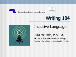 Writing 104