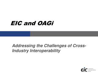 EIC and OAGi