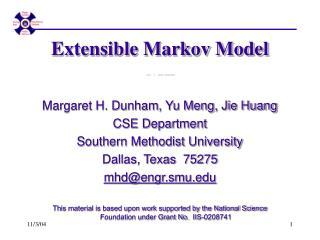 Extensible Markov Model