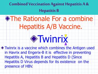 Combined Veccination Against Hepatitis A & Hepatitis B