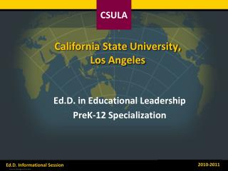 California State University,  Los Angeles
