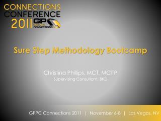 Sure Step Methodology  Bootcamp