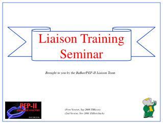 Liaison Training  Seminar