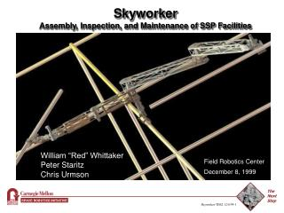 Skyworker Assembly, Inspection, and Maintenance of SSP Facilities