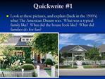 Quickwrite 1