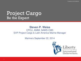 Project Cargo Be the Expert