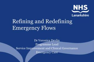 Refining and Redefining Emergency Flows