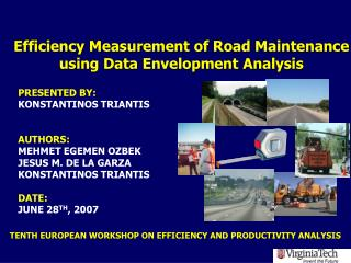 Efficiency Measurement of Road Maintenance using Data Envelopment Analysis