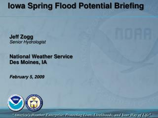 Iowa Spring Flood Potential Briefing