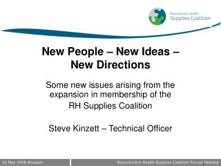New People – New Ideas –  New Directions
