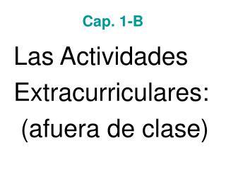 Cap. 1-B