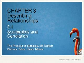 CHAPTER 3 Describing Relationships