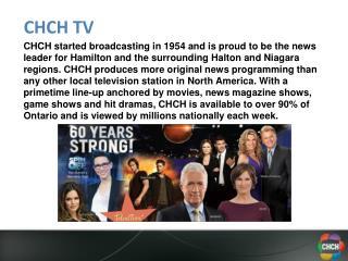 CHCH TV
