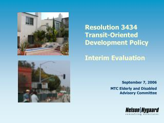 Resolution 3434 Transit-Oriented Development Policy Interim Evaluation