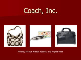 Coach, Inc.