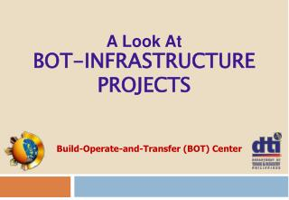 A Look At  BOT-INFRASTRUCTURE PROJECTS