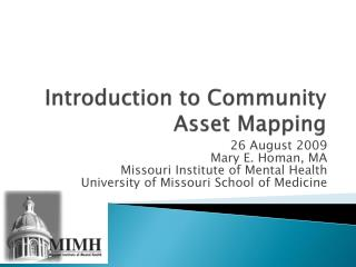 Introduction to Community Asset Mapping