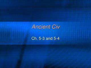 Ancient Civ