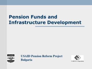 Pension Funds and Infrastructure Development